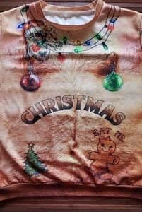 Sweaters - Man Bod Ugly Christmas Pull Over
